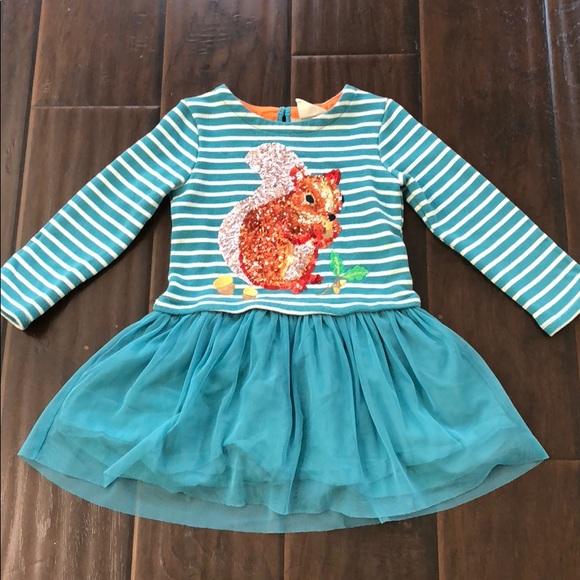Mini Boden Dresses Sequin Logo Dress 34t Poshmark